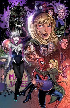 #Spider #Gwen #Fan #Art. (Spider Gwen) By: Raulman. (THE * 5 * STÅR * ÅWARD * OF: * AW YEAH, IT'S MAJOR ÅWESOMENESS!!!™)[THANK Ü 4 PINNING!!!<·><]<©>ÅÅÅ+(OB4E)