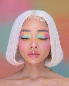 Makeup Inspo, Makeup Art, Makeup Inspiration, Beauty Makeup, Hair Makeup, Cute Makeup, Pretty Makeup, Creative Makeup Looks, Hair Reference