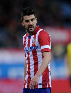 David Villa Photos - Club Atletico de Madrid v Sevilla FC - La Liga - Zimbio