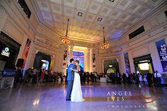 Shedd aquarium chicago wedding ceremony reception skyline amazing views Angel Eyes Photography by Hilda Burke 5