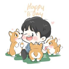 [FANART] ‪#‎HappyBaekhyunDay‬ ‪#‎HappyKyoongDay‬