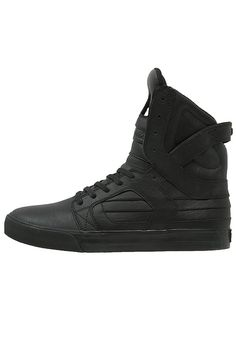 Supra SKYTOP II - Sneaker high - black/red - Zalando.de