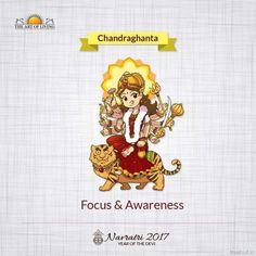 Chandraghanta, Third Form of Nav Durga , Navratri, The Art of Living Chaitra Navratri, Navratri Images, Happy Navratri, Navratri Wishes, Maa Kali Images, Durga Images, Lord Krishna Images, Names Of Goddess Durga, Goddess Lakshmi