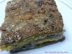 Ana Claudia na Cozinha: Torta de Banana Integral - BC Comer Bem Para Viver Melhor