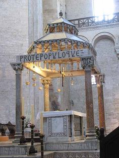 ✮ Basilica di San Nicola - Bari, Province of Bari, Puglia Places To Travel, Places To See, Italy Pictures, Regions Of Italy, Puglia Italy, Ancient Ruins, Bari, Sicily, Italy Travel