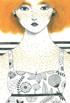 Giulia Tomai / portrait orange