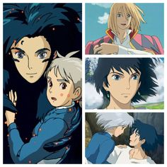 Howls Moving Castle. He's.... just.... so... charmingly weird.... and... just... pretty! Grrrr he's at it again. Stealing everybody's hearts.