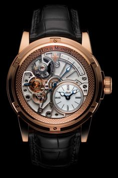 18K Rose Gold - White Dial - 20-Second Tempograph - 20-second Tempograph - Limited Editions - Louis Moinet