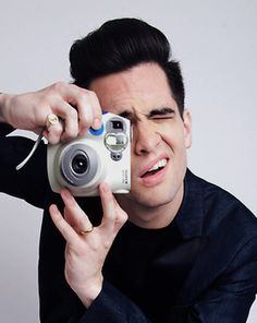 Brendon Urie of Panic! At The Disco photographed in Studio City, CA on March 17…