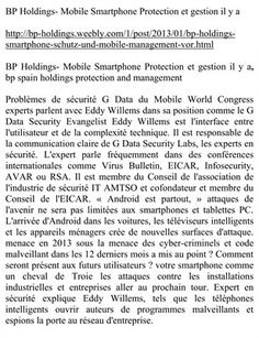 Other Publications: BP Holdings- Mobile Smartphone Protection et gestion il y a, $0.52 from HP MagCloud