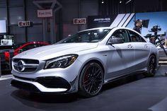 New York 2016: Mercedes-AMG CLA 45 - GTspirit