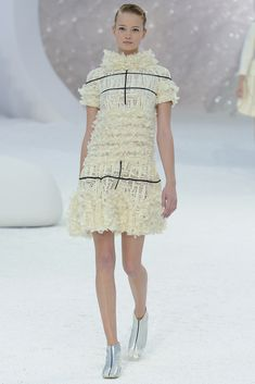 Chanel | Spring 2012 Ready-to-Wear Collection | Maud Welzen