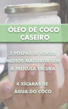 Receita de óleo de coco caseiro da nutricionista Mariana Ferri