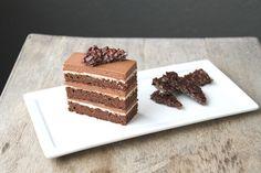 The Little Epicurean   Chocolate Hazelnut Cake
