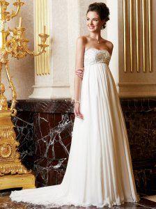 Sweetheart dress.
