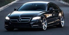 Mercedes CLS 550 on Vossen VVS-CV3