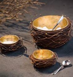 unique party serving bowls