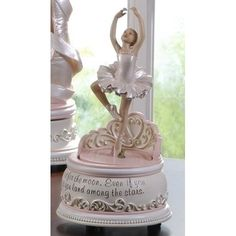 Ballet Collection Joseph's Studio Exclusive Revolving Ballerina Musical Figurine with a Verse Shoot for The Moon Land Among The Stars, 7.25-Inch Ballet Collection http://www.amazon.com/dp/B002QCGDE2/ref=cm_sw_r_pi_dp_PJovub09NAR5C