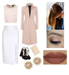 """""""Date with Gilinsky"""" by mischievoustyle on Polyvore featuring moda, Miu Miu, Cushnie Et Ochs, Ted Baker, Accessorize, Carolee y Derriére"""