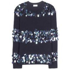 Dries Van Noten - Sequin-embellished wool sweater - mytheresa.com