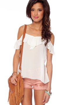SUMMER NIGHTS TOP. I just got this one too...I am done shopping for the day..I need to go back to studying :(