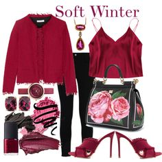 Soft Winter by prettyyourworld on Polyvore featuring polyvore, moda, style, IRO, STELLA McCARTNEY, Gianvito Rossi, Dolce
