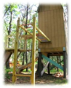 Luxury Free Standing Monkey Bars for Home