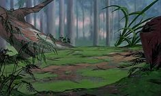 Animation Backgrounds: RESCUERS DOWN UNDER (1990)