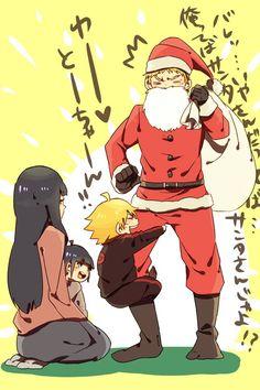 naruhina family. lol~! NarutoSanta! hahahahaha!