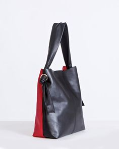 red/blackCarolyn Donnelly The Edit Colour Block Bag