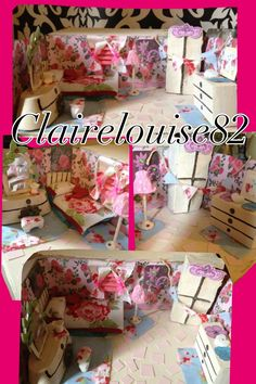 How to create a beautiful Cath Kidston inspired room in a shoe box with the things you have at home