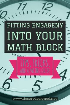 How to Fit an Engage NY Lesson into a Short Math Block Fifth Grade Math, Fourth Grade, Third Grade, Eureka Math 4th Grade, Sixth Grade, Engage Ny Math, Math Coach, Math Blocks, Math Workshop