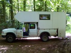 • K33F's Self Build – a forum thread in which Keith (aka K33F) describes the construction of a demountable camper for his Ford Ranger Supercab pickup which he built through late 2013 /…