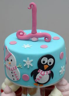 winter one-derland birthday cake | Recent Photos The Commons Getty Collection Galleries World Map App ...