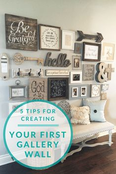 5 Tips For Creating Your First Gallery Wall, Gallery Wall, Home Gallery  Wall, Home Decor, Home Decor How To, Home Interiors, How To Gallery Wall,  ...