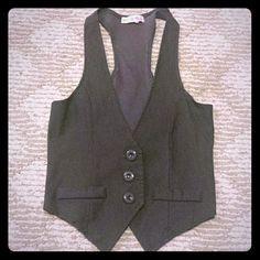 Grey vest Super cute vest Jackets & Coats Vests