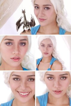 """Like this """"Game Of Thrones"""" makeup look? Watch makeup tutorials and get personalized products. Sign up now!"""