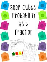 Classroom Freebies Too: Probability Fun with Snap Cubes!