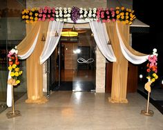 Indoor Gate Entrance Decoration