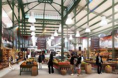 """Début octobre, un nouveau supermarché a ouvert ses portes dans un endroit plutôt inattendu... """"Les cinq fermes"""", c'est le nom de ce nouveau lieu insolite.C'était quoi avant ? """"Les cinq fe..."""