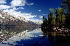 Jenny Lake in the Grand Tetons . . . Wyoming.  Greatest vacation ever!.