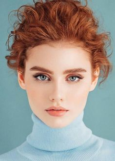 Burgundy Brown - 40 Red Hair Color Ideas – Bright and Light Red, Amber Waves, Ginger Hair Color - The Trending Hairstyle Redhead Problems, Redhead Models, Redhead Fashion, Redhead Girl, Face Photography, Model Face, Beautiful Redhead, Beautiful Girls Face, Beautiful Red Hair