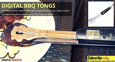 #Digital BBQ Tongs -  Cook Perfectly Without #Burning the #Food