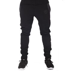 GymShark Luxe Fitted Bottoms Black/Graphite Men's featured clothing | GymShark International | Innovation In Fitness Wear