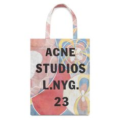 Acne Studios celebrates Hilma af Klint ❤ liked on Polyvore featuring bags