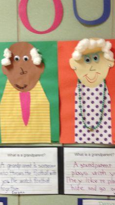 What is a Grandparent? Preschool Family, Preschool Art, Preschool Activities, Grandparents Day Activities, September Art, Family Theme, Classroom Displays, Autumn Activities, Kindergarten Worksheets