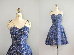 1950s dress from Dear Golden