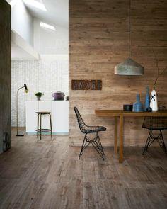 Lattialaatta Treverk Home puuefektillä. www.k-rauta.fi   Wood-like stylish floortile Treverk Home.