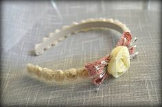 Floral Hairpiece Rose Hairpiece Romantic Hairpiece Rustic