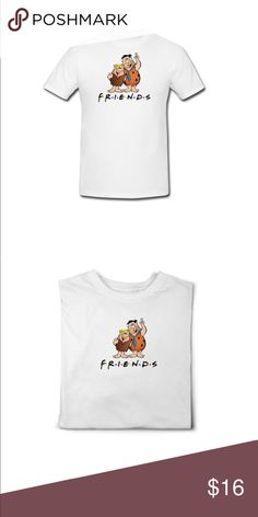 Friends X flintstones mashup New graphic t  Friends ft the Flintstones Rock out white this cool graphic t  #men#women#girl#boy#everybody#friends###flintstones #poshmark ootd #outfitoftheday #lookoftheday #fashion #fashiongram #style #love #beautiful #currentlywearing #lookbook #wiwt #whatiwore #whatiworetoday #ootdshare #outfit #clothes #wiw #mylook #fashionista #todayimwearing #instastyle #socialenvy #instafashion #outfitpost #fashionpost #todaysoutfit #fashiondiaries Forever 21 Shirts Tees…
